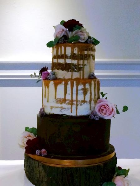 the chic cake boutique wedding cake