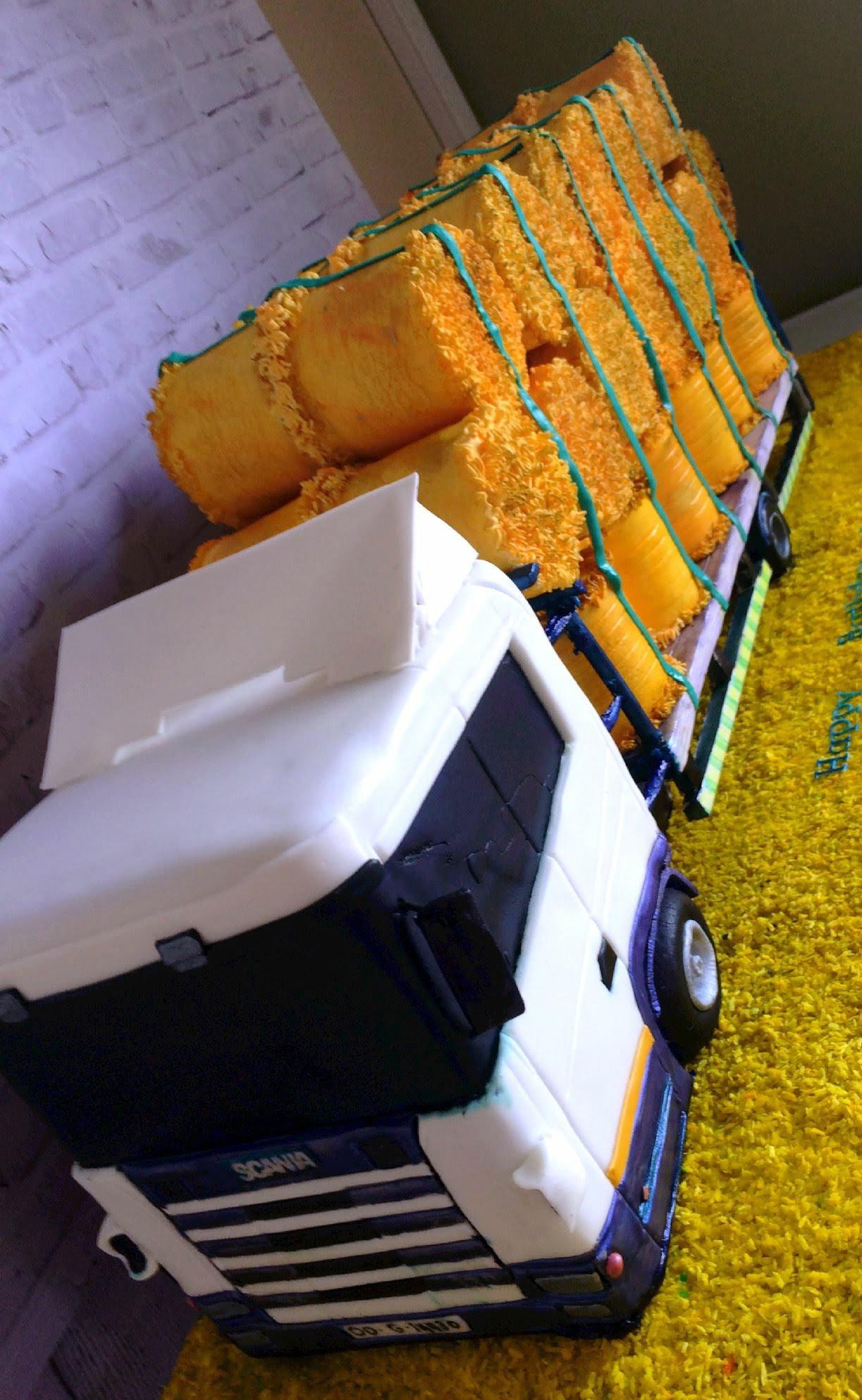 lorry cake