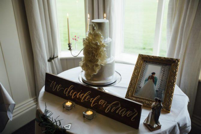 Fondant wedding cake the chic cake boutique