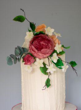 chocolate biscuit wedding cake